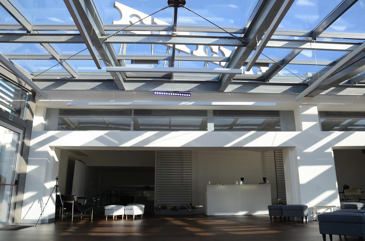 Terrazza Euclide - Sala per feste, convegni ed eventi a Roma.